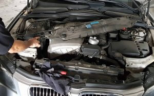 bmw-repair-coolant-piping-leakage